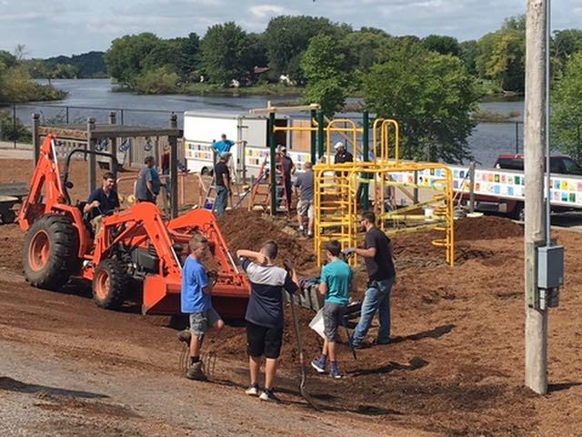 Installing New Playground